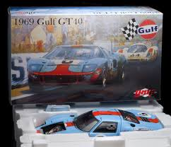 gulf gt40 ford gt40 lemans winner 1969 gmp 1 12 scale aeromobilia