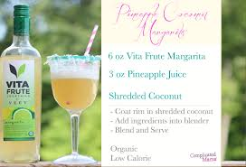 margarita recipes organic low cal cocktails for summer
