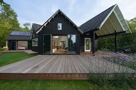Modern Farm Homes Danish Summer House Powerhouse Company Archdaily