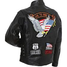 buy biker jacket gfcrltr diamond platetm rock design genuine buffalo leather