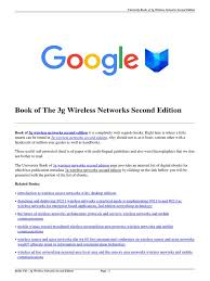 download 3g wireless networks second edition pdf wireless