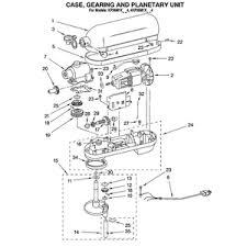 Kitchenaid Toaster Oven Parts List Kitchenaid 6 Quart Professional Parts Diagram Kitchenaid 6 Quart