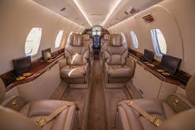 Cessna Citation X Interior Citation X N999gy Thunderbird Airways