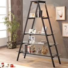 A Frame Bookshelf Plans Contemporary Ladder Bookshelves Ideas For Unique Interior Designs