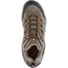 merrell men u0027s moab ventilator hiking shoes walnut wide