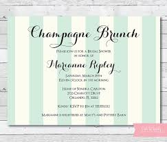 chagne brunch invitations chagne brunch invitation bridal shower invitation engagement