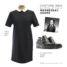 Halloween Costume Wednesday Addams Chic Halloween Costumes U0026 Pre Owned Designer