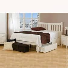 arquette white bed frame by sweet dreams