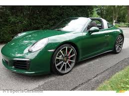 porsche targa 2017 2017 porsche 911 targa 4s in paint to sample irish green 136587