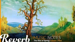 the rite of spring causes a riot music notes from reverb com
