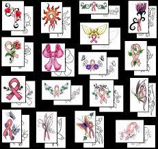 100 cancer symbol tattoo 70 cancer ribbon tattoos for men