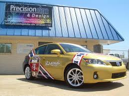 lexus service tulsa ok rally car wrap precision sign u0026 design