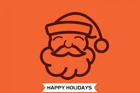 happy holiday merry christmas and happy new year greeting card by