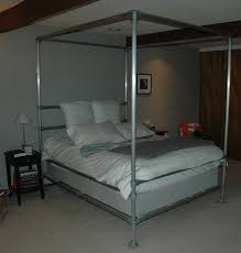 How To Build A Wood Platform Bed Frame by How To Build A Pipe Bed Frame Simplified Building
