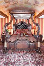 michael amini victoria palace 5 pc bedroom set luxurious large