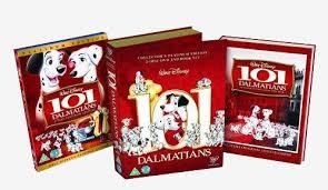 101 dalmatians deluxe book pack 8717418155810 disney dvd database