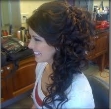 prom hairstyles side curls hairstyles to the side with curls for prom best hairstyles