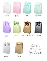 wedding favor bag fall weddings favor bags candy boxes