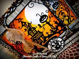 halloween chocolate background cottageblog cottagecutz halloween night scene u0026 giveaway
