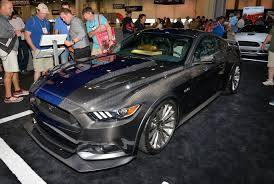 ford group ford mustang voted hottest coupe of 2016 sema show