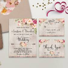 wedding invitations printable floral wedding invitation printable boho from digartdesigns on