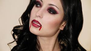vampire halloween makeup look youtube