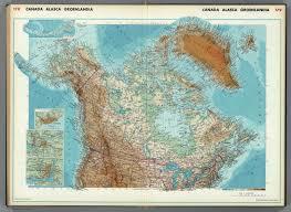 Alaska Canada Map by Canada Alaska Greenland David Rumsey Historical Map Collection