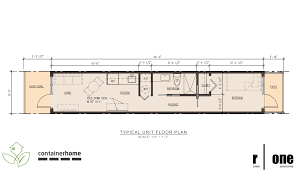 Container Floor Plans July 2011 R One Studio Architecture