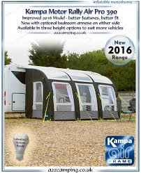 Inflatable Awnings For Motorhomes Kampa Motor Rally Air Pro 390 Inflatable Awning Inflatable
