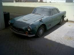 convertible maserati for sale maserati 3500 gt awaiting restoration in dubai maserati forum