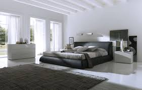 Black And White Bedroom Bedroom Large Black White Bedroom Design With Black Modern