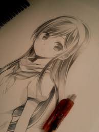 pictures cool anime drawings in pencil drawing art gallery