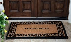 Personalized Outdoor Rugs Various Personalized Outdoor Mats Of For Front Door Home Gallery