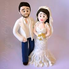 customized wedding cake toppers personalized wedding cake topper figurines bespoke wedding