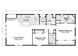 the key biscayne 24 u0027 tl24522a manufactured home floor plan or