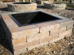 Fire Pit Insert Square by Outdoor Fire Pit Designs Product Categories Outdoor Living Fire