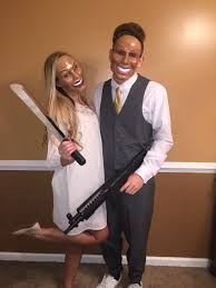 halloween costume ideas for couples pinterest the purge couple costume thepurge couplecostume ryliston