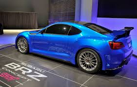 car subaru brz exposed u2013 the subaru brz concept sti u2013 our auto expert