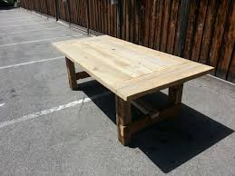 Restoration Hardware Dining Bench by Salvaged Wood Restoration Hardware Trestle Dining Table