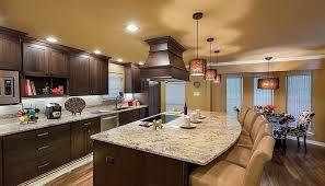 dark kitchen cabinets with light granite exitallergy com