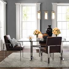 Extra Large Dining Room Tables by Mercer Dining Table With Glass Top Williams Sonoma