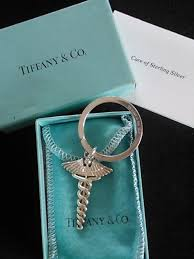 key rings tiffany images Beautiful tiffany co keychain great idea for grad nursing jpg