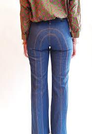 High Waist Bell Bottom Jeans Vintage 1970s High Waist Jeans 70s Bell Bottom Jeans Wrangler
