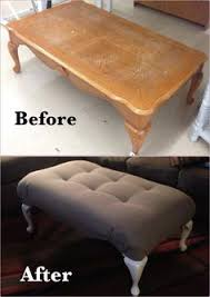 ottoman that turns into a chair diy coffee table turned bench oooooohhhhh never thought of doing