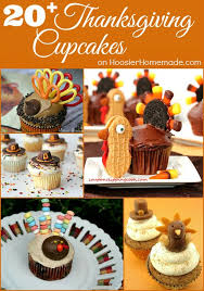 20 thanksgiving cupcakes hoosier