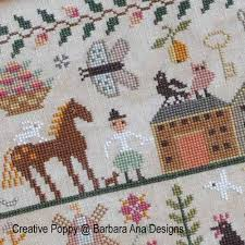 barbara designs all creatures great and small cross stitch