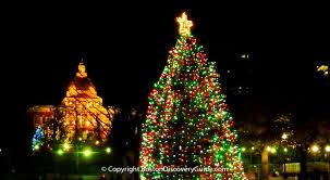 boston tree lighting events schedule 2017 boston
