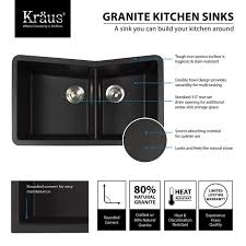 Composite Undermount Kitchen Sinks by Kitchen Graphite Composite Kitchen Sinks Bowl Sink Black