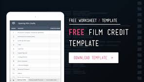 download your free filmmaking production documents and templates