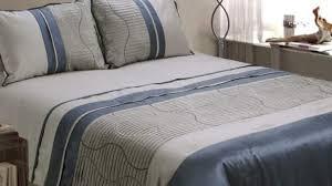 Grey Bedding Sets King Blue And Grey Comforter Sets Stripe Satin Bedding Set King Size